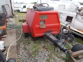 Ingersoll Rand 185 Diesel John Deere Compressor photo