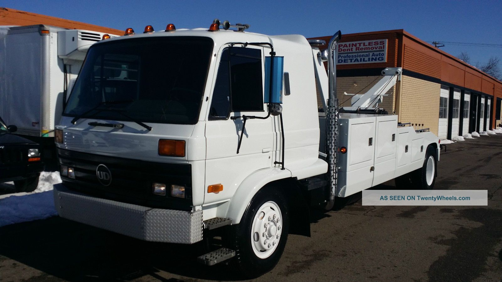 1990 Nissan Ud 2600 Wreckers photo