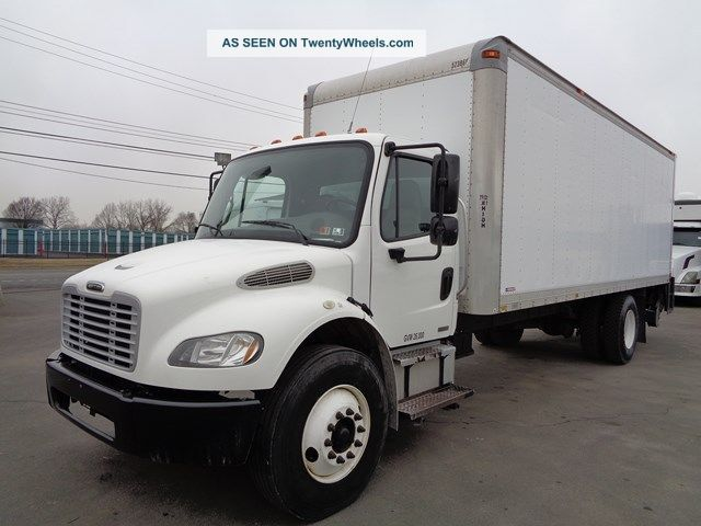 2007 Freightliner M2 24 ' Box Truck Lift Gate Cat Turbo Diesel Box Trucks / Cube Vans photo