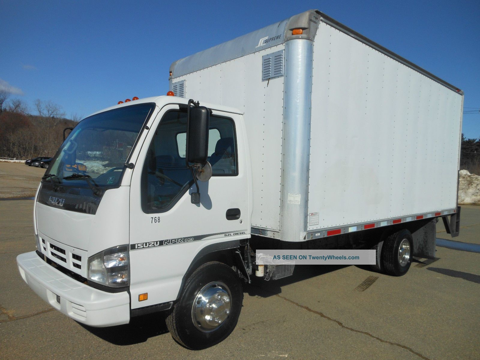 2007 Isuzu Npr Hd Box Trucks / Cube Vans photo