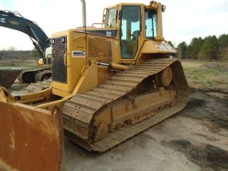 2005 Caterpillar D6nlgp Cab Bulldozer With 6 Way Blade Diff Steer photo