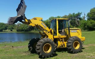 544h John Deere Wheel Loader +bucket Call 352 274 5845 photo