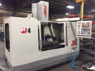 Haas Vf4 Cnc Vertical Machining Center photo