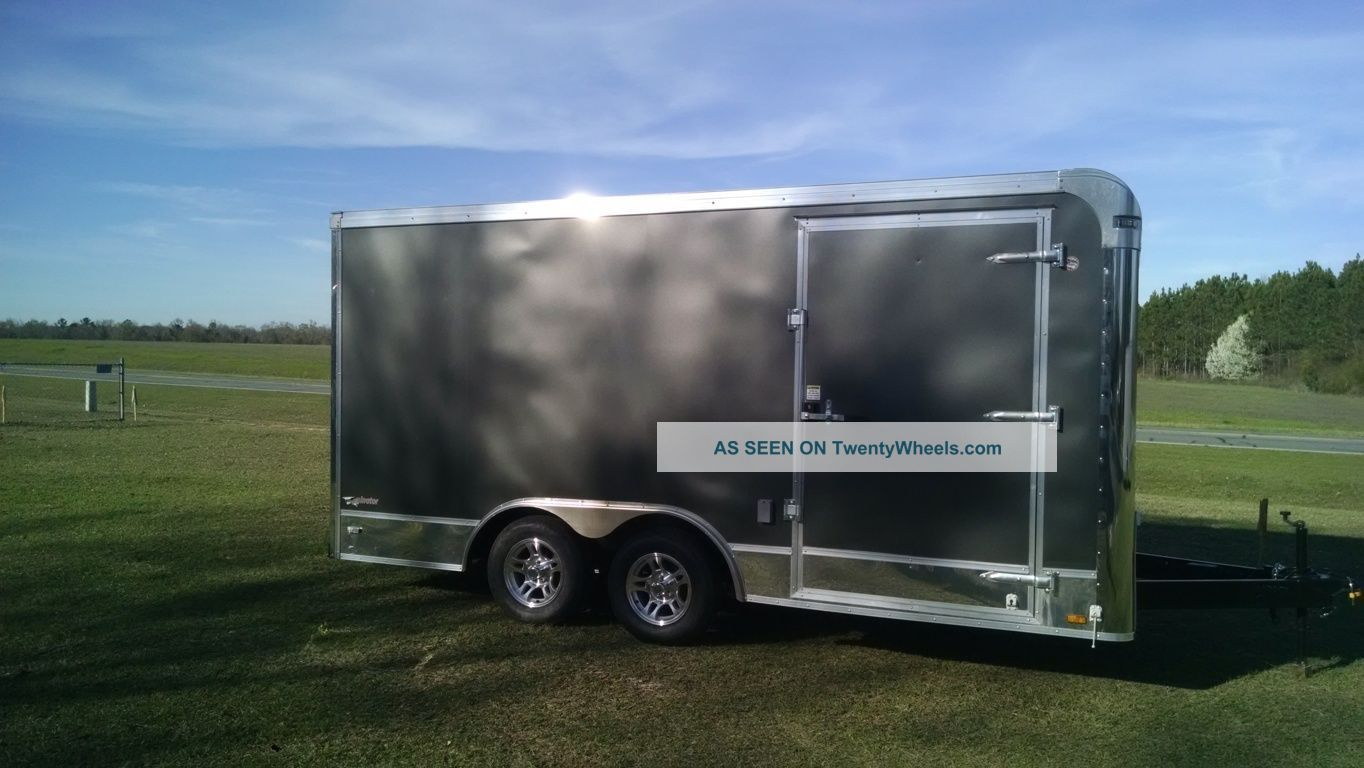 8.  5 X 16 Enclosed Car Hauler (platinum Plus Line) Other photo