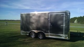 8.  5 X 16 Enclosed Car Hauler (platinum Plus Line) photo