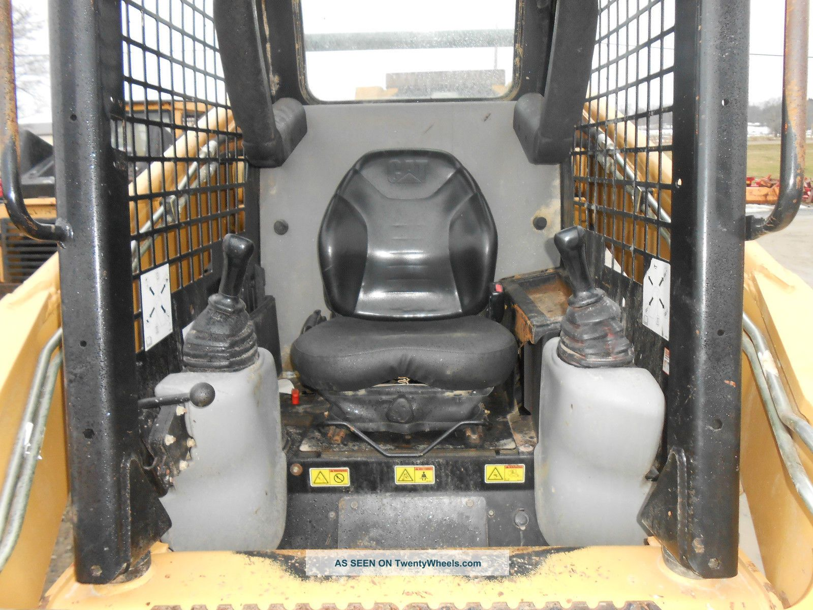 Cat 252b Skid Loader Low Hrs Good Tires Pilot Controls In Pa