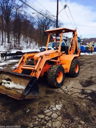 Backhoe Allmand Tlb 6235 4x4 Backhoe 2007 photo