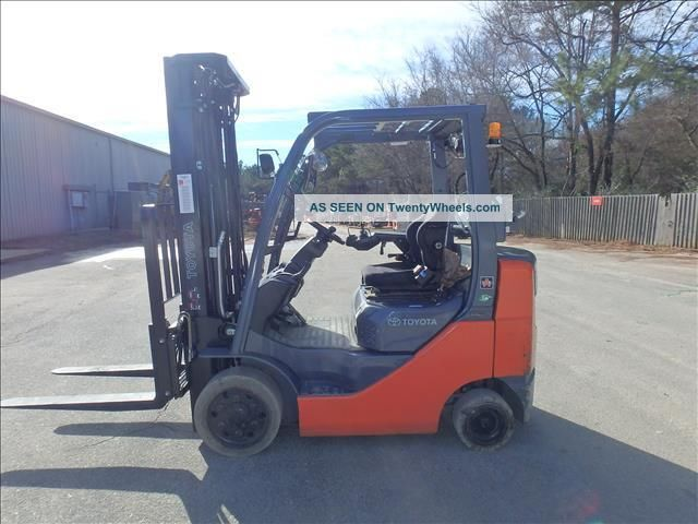 Toyota Forklift Shift Lever Switch : Toyota fgcu forklift truck quot way with