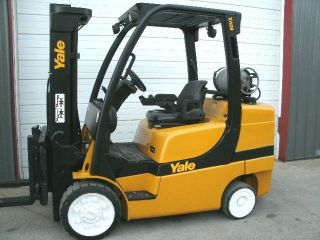 2007 Yale Lp Forklift photo
