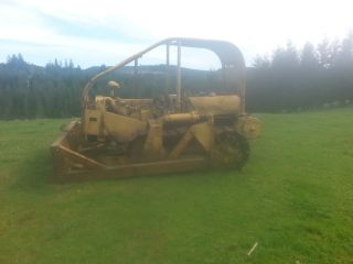1940 ' S Hyster D4 Catapillar Dozer - - Needs Some Tlc But Good Machine photo