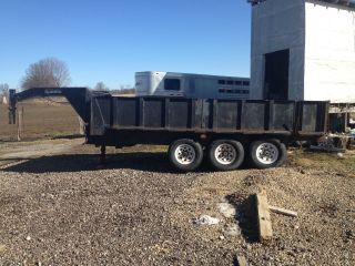 Appalachian Dump Trailer - 16 ' Gooseneck photo