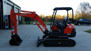 2011 Kubota Kx71sr1t3 Excavator photo