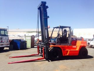 2007 Doosan Forklift 25,  000lbs Diesel Side Shift photo