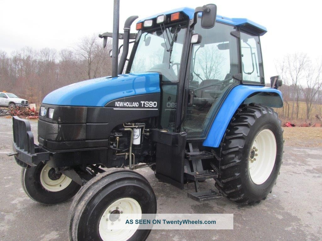 ford holland ts90 diesel farm tractor with cab tractor. Black Bedroom Furniture Sets. Home Design Ideas