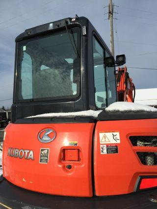 Kubota Kx 057 Excavator Loaded photo