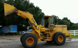 John Deere 644e Wheel Loader,  Ex - County Unit/ Cold A/c photo
