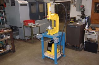 Enerpac 30 Ton C - Frame Press 110 Volt,  Single Phase photo