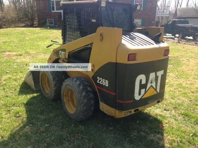 Cat 226 Specs >> Cat 226b Caterpillar 226 B C 236 246 Skidsteer Loader ...