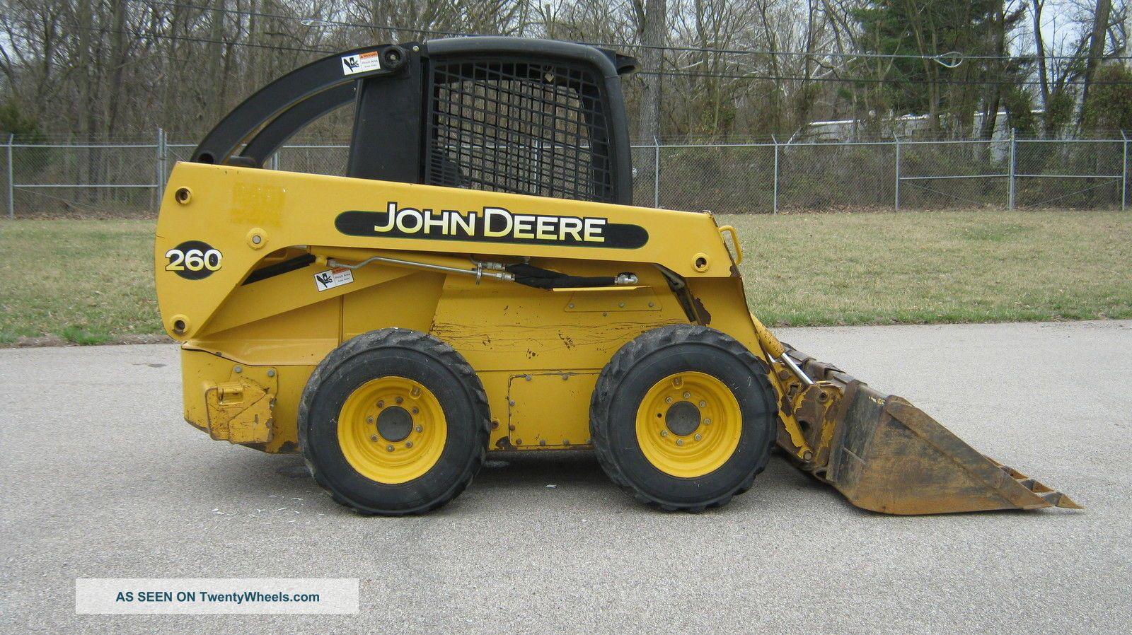 john deere 260 skid steer parts manual