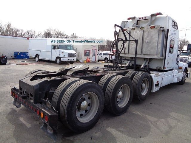 Heavy Truck Axles : Kenworth t tri axle heavy hauler truck