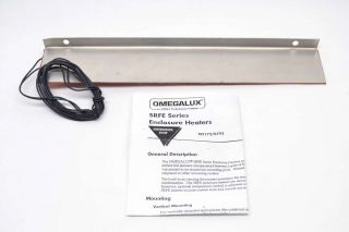 Omega Srfe - 12 - 105 Omegalux Enclosure Panel Heater 115v - Ac 120w B418712 photo
