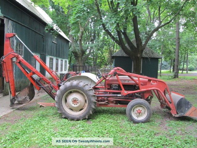 Ford Workmaster 601 Tractor Horsepower : Ford workmaster front end loader