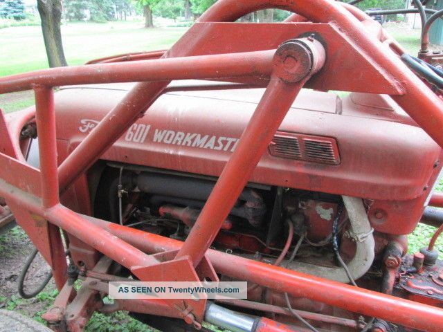 Ford 601 Workmaster Specifications : Ford workmaster with front end loader and backhoe