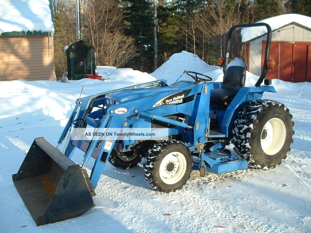 Holland Tc Compact Tractor Lgw
