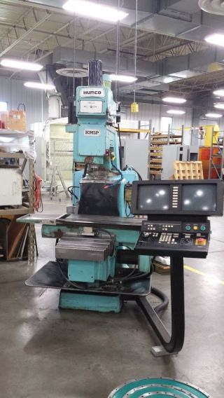 Hurco Km5p Cnc Vertical Mill 1992 5hp Ultimax 2 Control photo