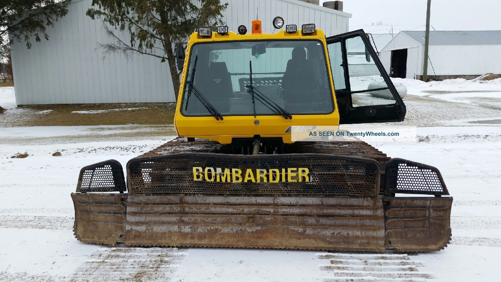 Bombardier Snowcat Br275 12 Foot Machine 2001 Other photo