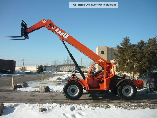jlg 644e 42 fuel filter 2007 lull jlg 644e - 42 telescopic forklift telehandler ... fuel fuel filter #6