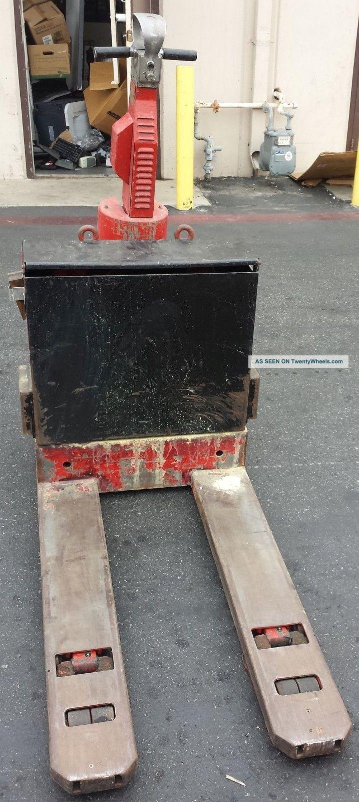 Lansing Bagnall Ltd  Poep2 20 Electric Pallet Jack Lift