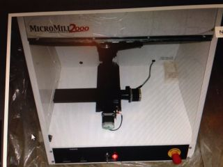 Micromill 2000 3 - Axis Cnc Milling Center photo