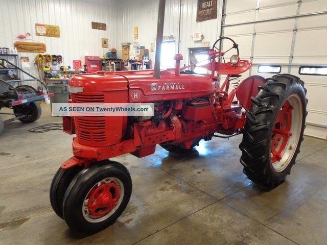 Antique International Tractor Wheel : Antique mccormick farmall tractor ih international
