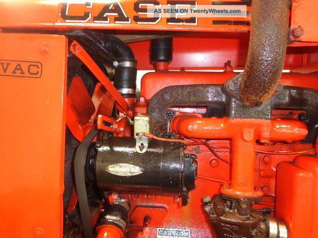 Case Vac Equipment : Antique case vac tractor collector gas farm equipment