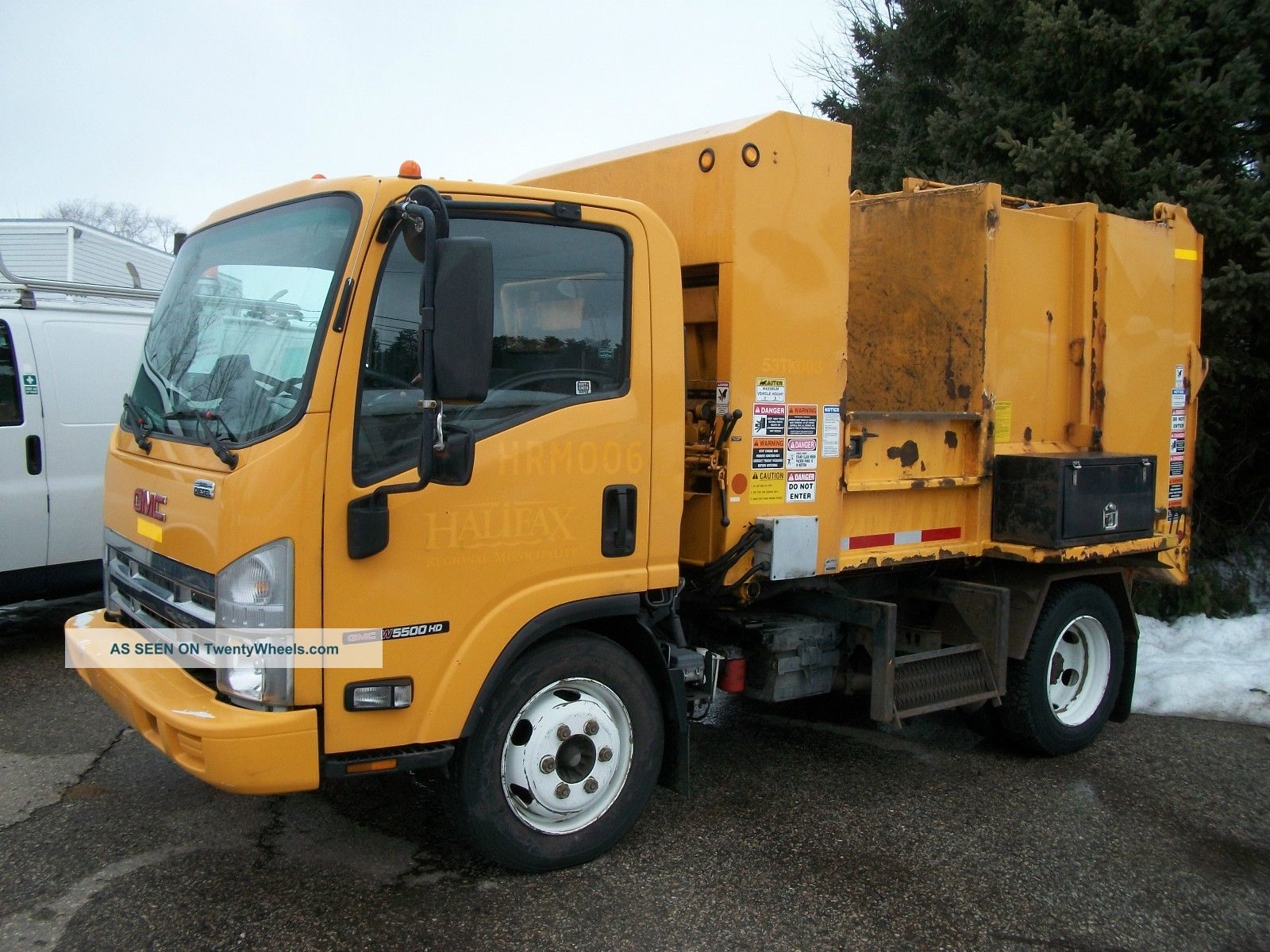 2008 Gmc W 5500 Hd Garbage/refuse Packer Other Medium Duty Trucks photo