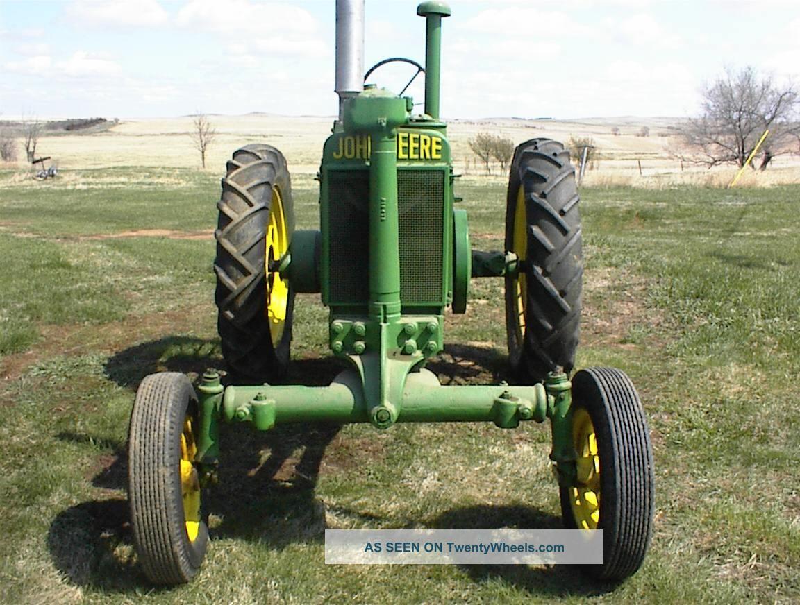 Rare John Deere Tractors : Antique vintage john deere model aw farm tractor rare