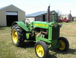 Antique,  Vintage,  1949 John Deere Ar Farm Tractor photo