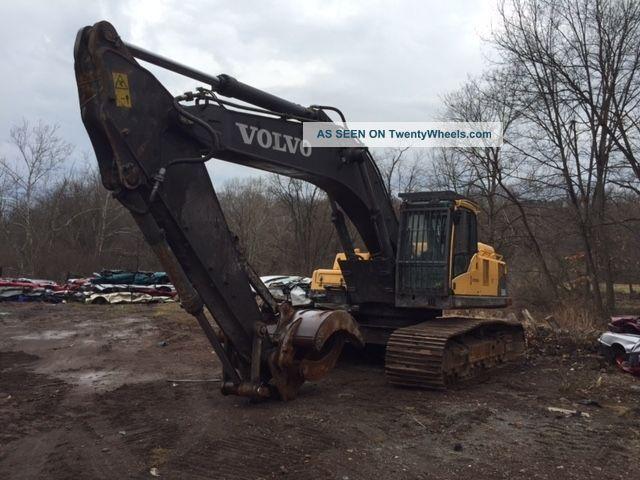 2010 Volvo Ec360cl Excavator 7500 Hours Grapple Scrap Excavators photo