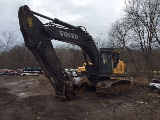 2010 Volvo Ec360cl Excavator 7500 Hours Grapple Scrap photo