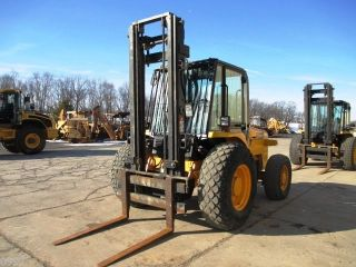 2006 Jcb 926 Forklift,  4x4,  Cab,  2118 Hours,  3 Stage Mast photo