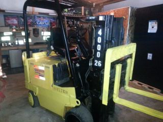 Hyster Xl40 Forklift Just Serviced Ec photo