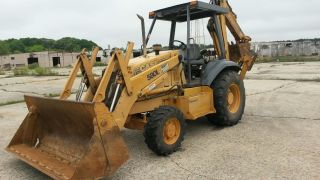 Case 580l 4x4 Loader Backhoe photo