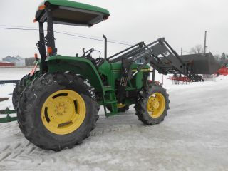 John Deere 6210 4x4 Loader Good Tires In Pa Low Hrs One Owner In Pa photo