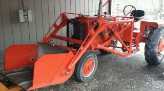 Allis Chalmers Ca With Loader And Parts photo
