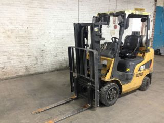 2008 Caterpillar C5000lp Warehouse Forklift photo