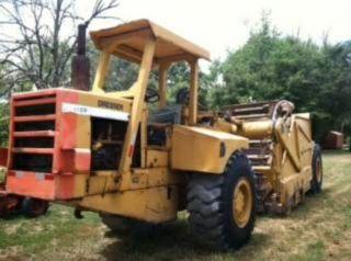 412 B Dresser Elevating Scraper Dirt Pan Tractor Farming Heavy Equipment photo