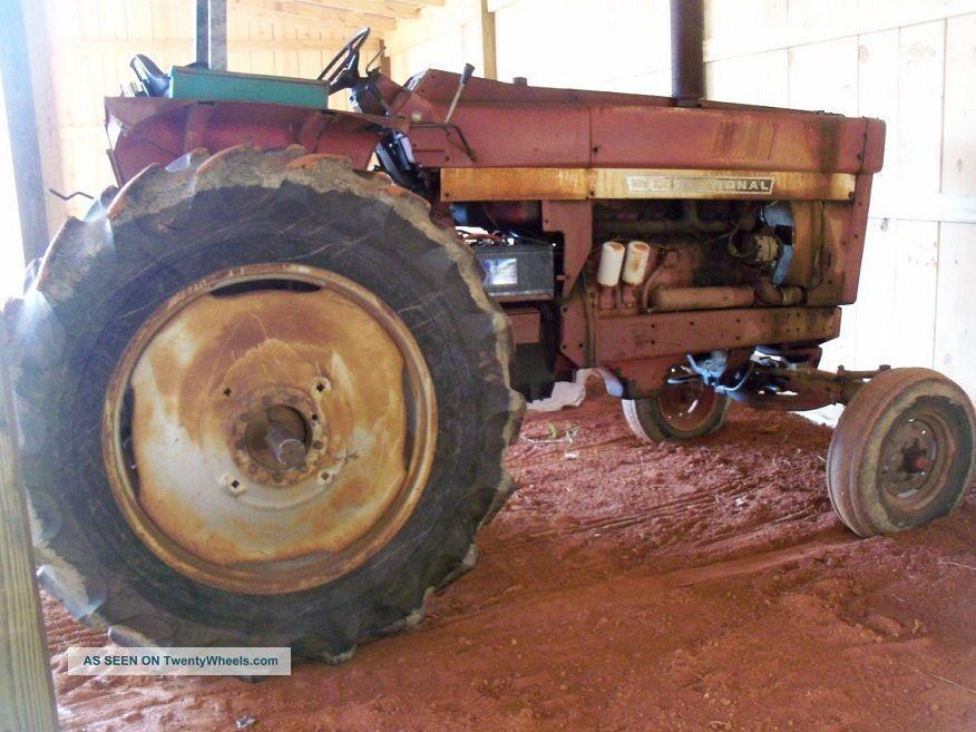International 1466 Pulling Tractor : Ih international farmall tractor pulling restore
