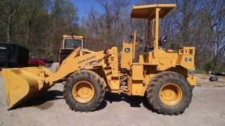 John Deere 84 Loader photo