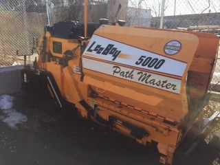 2013 Leeboy 5000 Barely 100 Real Hours Priced To Sell photo